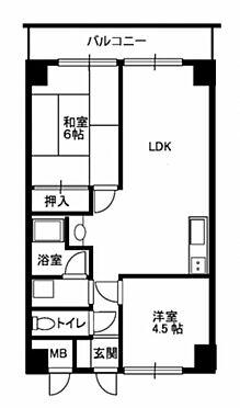 区分マンション-神戸市垂水区西脇2丁目 間取り