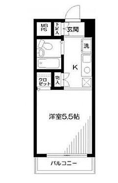 マンション(建物一部)-横浜市中区長者町1丁目 間取り