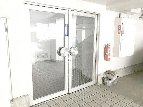 マンション(建物一部)-松戸市松戸 【エントランス】入り口は全面ガラス張りです。