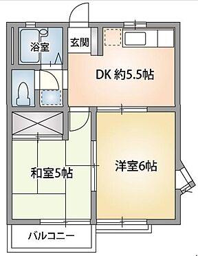 アパート-佐倉市臼井田 間取り
