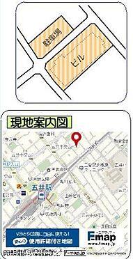 ビル(建物全部)-市原市五井 地図