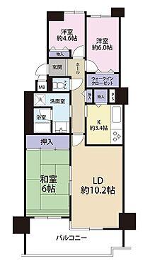マンション(建物一部)-神戸市須磨区北落合6丁目 全室に収納があり便利