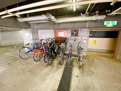 区分マンション-千代田区九段南3丁目 自転車置場です。