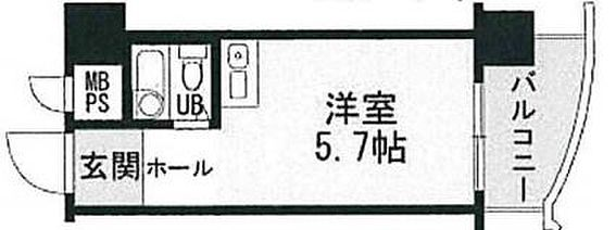 マンション(建物一部)-京都市下京区西木屋町通上ノ口下る梅湊町 間取り