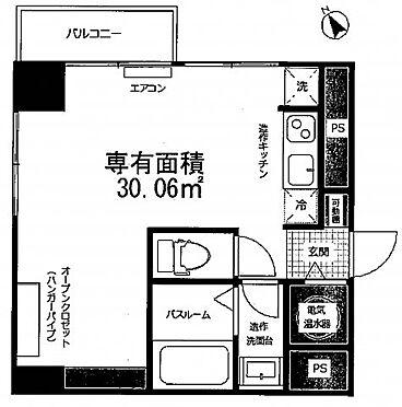中古マンション-新宿区新宿2丁目 間取り