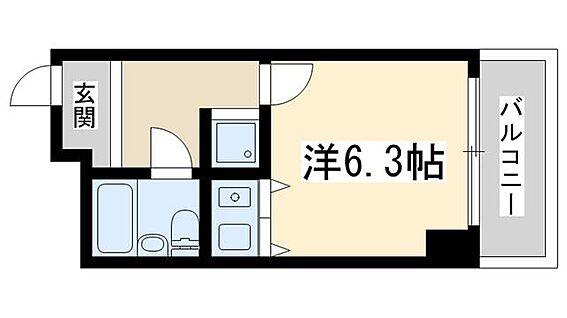 マンション(建物一部)-大阪市淀川区西中島2丁目 間取り