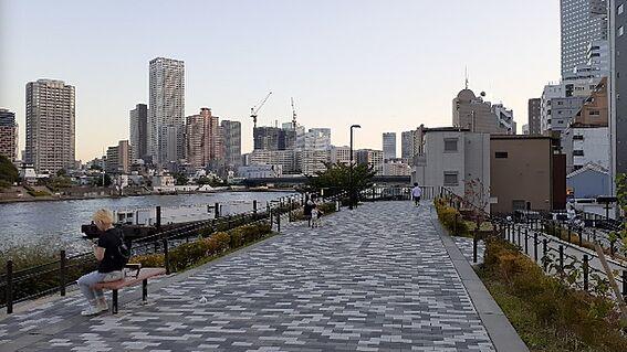 区分マンション-中央区湊3丁目 中央区立湊公園(300m)