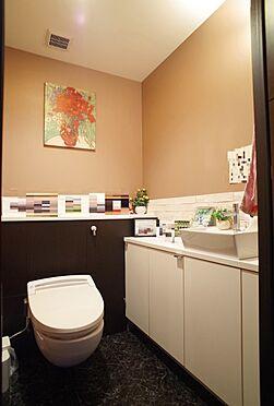 中古マンション-江東区東雲1丁目 手洗い場付きのトイレ