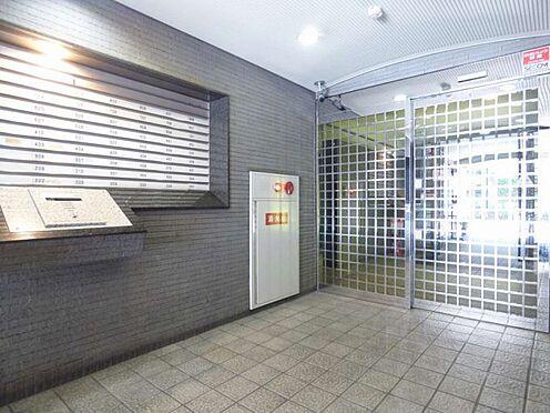 マンション(建物一部)-大阪市西区新町2丁目 防犯性に配慮したエントランス
