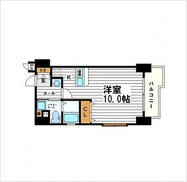 マンション(建物一部)-大阪市中央区農人橋3丁目 間取り