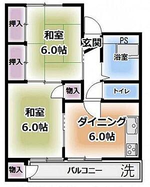 マンション(建物一部)-町田市南大谷 間取り