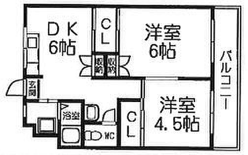 マンション(建物一部)-姫路市城北新町3丁目 間取り