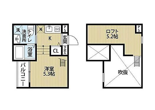 アパート-名古屋市中村区東宿町2丁目 間取り