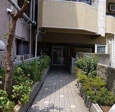 マンション(建物一部)-神戸市兵庫区大開通5丁目 緑豊かなエントランス