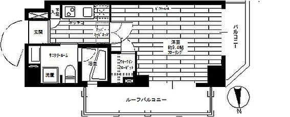 マンション(建物一部)-江東区三好2丁目 間取り
