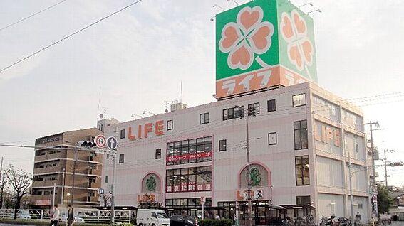 中古マンション-大阪市平野区西脇2丁目 ライフ平野西脇店