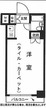 中古マンション-横浜市中区長者町5丁目 間取り