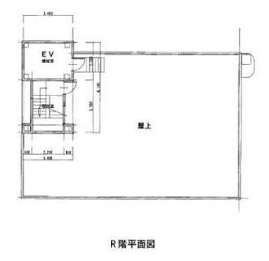 マンション(建物全部)-本庄市銀座2丁目 屋上 平面図