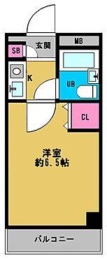区分マンション-大阪市都島区内代町1丁目 シンプルな単身者向けの1K