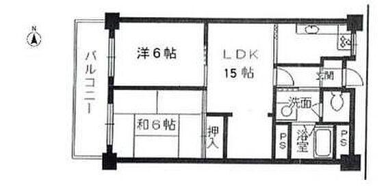 区分マンション-富田林市寺池台5丁目 間取り