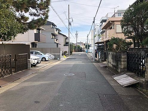 土地-名古屋市昭和区元宮町6丁目 前面道路:幅員約6.36m