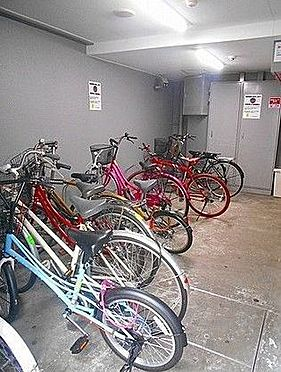 マンション(建物一部)-大阪市中央区松屋町 雨の日も安心の屋内駐輪場