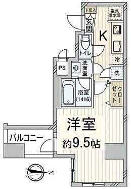 マンション(建物一部)-京都市上京区東堀川通上長者町下る二町目 間取り