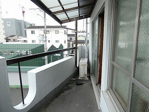 中古テラスハウス-大阪市平野区西脇1丁目 バルコニー