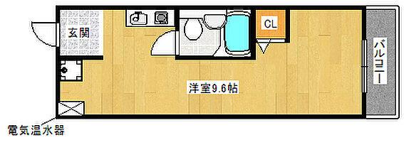マンション(建物全部)-堺市堺区北清水町1丁 間取り