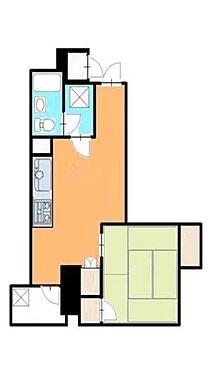 マンション(建物一部)-大阪市中央区島之内2丁目 単身者向けの使い勝手の良い間取り