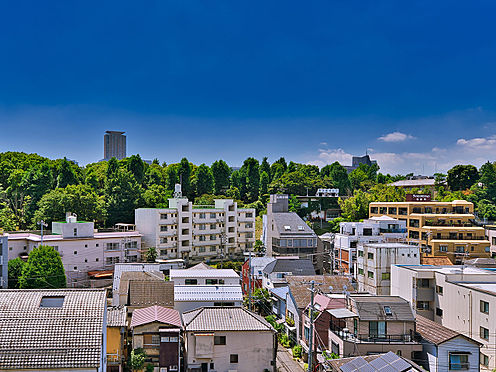 区分マンション-新宿区南元町 バルコニーからの眺望