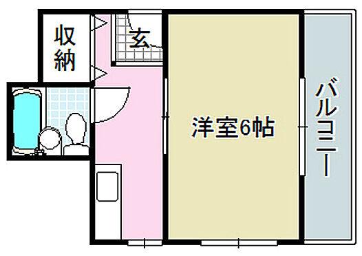 マンション(建物全部)-茨木市五日市緑町 間取り