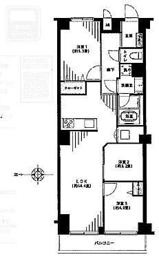 マンション(建物一部)-板橋区徳丸1丁目 間取り