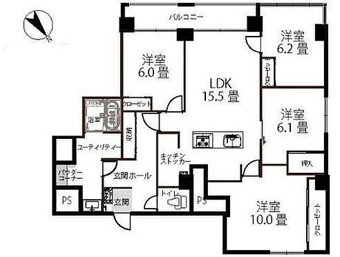 マンション(建物一部)-札幌市西区二十四軒四条7丁目 間取り
