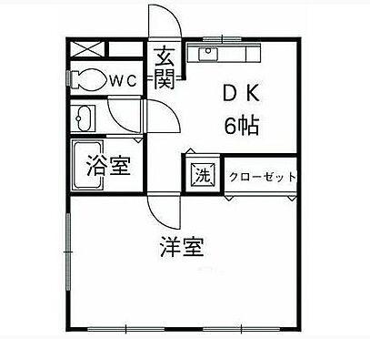 アパート-藤沢市藤沢 1DKタイプ