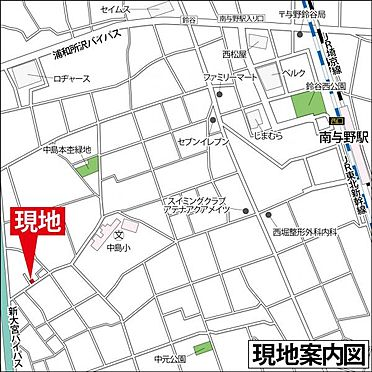 アパート-さいたま市桜区中島2丁目 地図