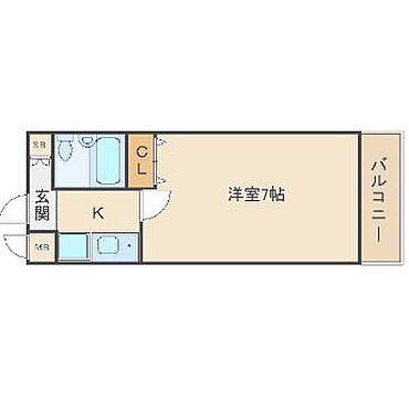マンション(建物一部)-大阪市東成区中道1丁目 間取り