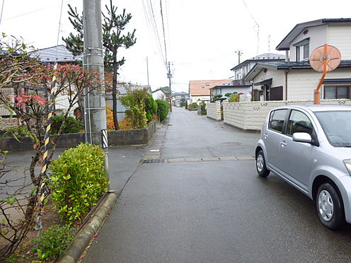 アパート-秋田市下新城中野字街道端西 道路