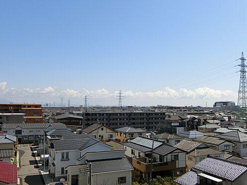 中古マンション-新潟市中央区南出来島2丁目 バルコニーからの眺望(南方向を望む)