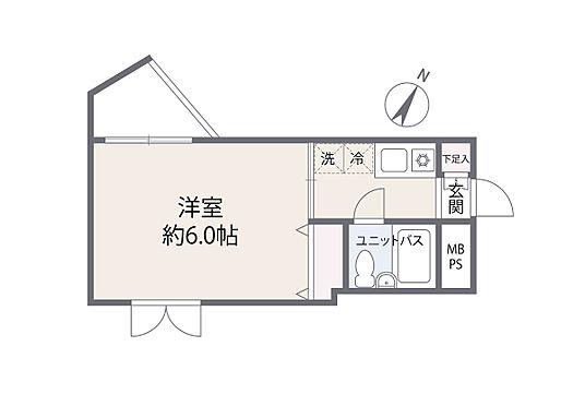 中古マンション-横浜市西区中央1丁目 間取り図