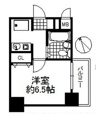 区分マンション-大阪市福島区海老江5丁目 間取り