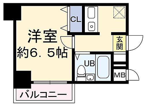 中古マンション-大阪市福島区海老江5丁目 間取り