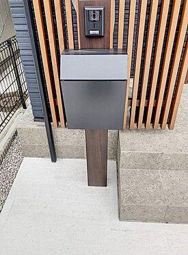 戸建賃貸-北名古屋市西之保立石 宅配ボックスがあるので、お留守中も安心です。
