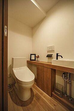区分マンション-福岡市中央区浄水通 トイレ