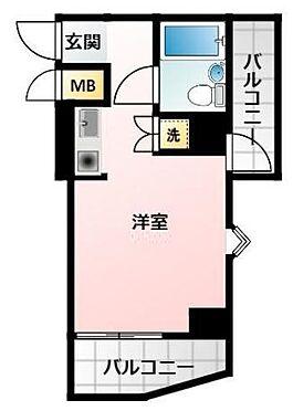 マンション(建物一部)-大阪市浪速区下寺2丁目 便利なふたつのバルコニー
