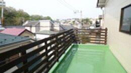 中古一戸建て-横浜市中区豆口台 バルコニー