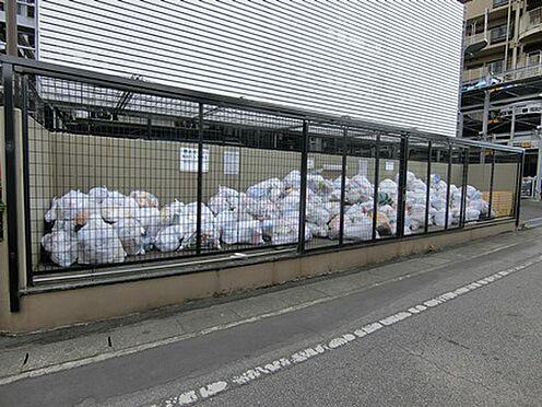 マンション(建物一部)-越谷市千間台西1丁目 ゴミ置き場の様子です。しっかり管理されています。