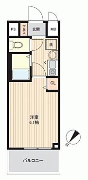 区分マンション-神戸市兵庫区駅南通1丁目 間取り