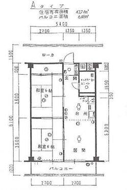 マンション(建物一部)-大阪市西成区南津守5丁目 間取り