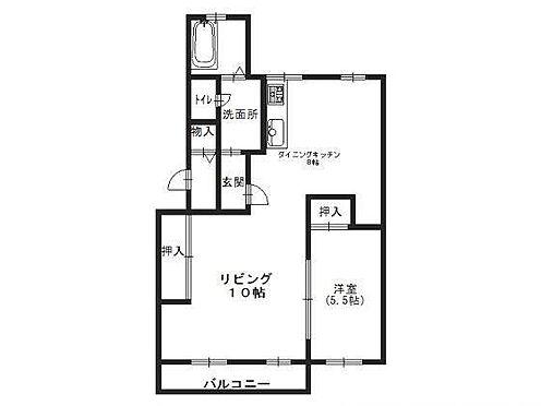 マンション(建物一部)-神戸市須磨区白川台2丁目 広々とした1LDK